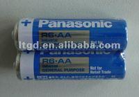 Panasonic R6 Zinc carbon battery