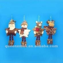 Star Body Design Santa Snowman Bear Reindeer Christmas Hanging Decoration