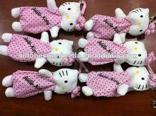 cartoon sanrio japan cute hello kitty polka dot mini five folding umbrella