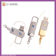 Jewelry diamond shape usb flash drive