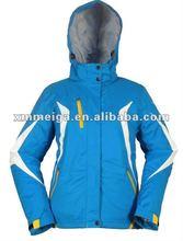women's classtic ski jacket,100% polyester fabric,100g padding