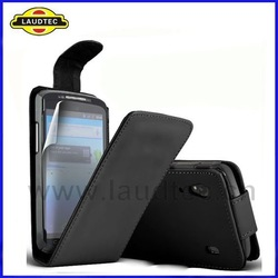 Leather Flip Case for ZTE Skate V960,Flip Case Cover,Fast delivery----Laudtec