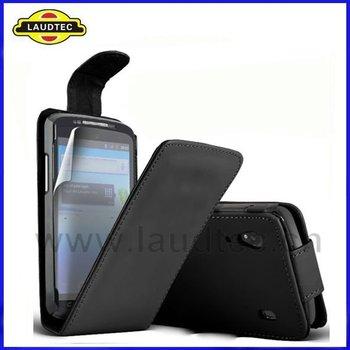 Leather Flip Case for ZTE Skate V960,Flip Case Cover,Fast delivery----Laudtec