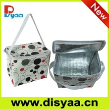 Hot!!! Outdoor 24 Cans Non Woven Aluminium Foil Cooler Bag