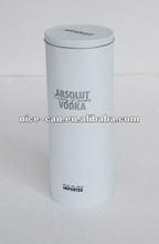 vodka metal container