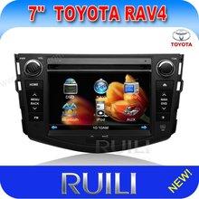 Hot sell Toyota RAV4 car radio dvd wiht gps/usb/sd/bluetooth/camera/ipod/mp4/mp3