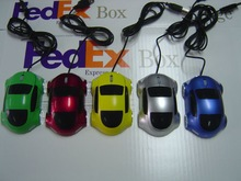 2013 New Mini Wired Mouse car shape wired mouse with PMS for you