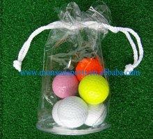 Printing transparent PVC golf ball bag