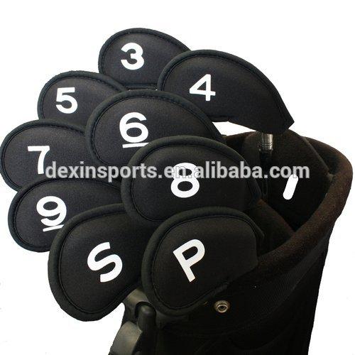 2014 Hot selling neoprene golf iron covers