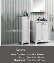 Spanish bathroom cabinet,luxury bathroom furnitures,modern home floor bathroom cabinet