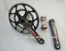 YISHUN YS-CS-03 all carbon road bike crank,road bike carbon crank set