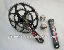 YISHUN YS-CS-03 all carbon road bike crank,road bike carbon crank set