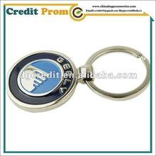 2012 Hot Sell Fashion Blank Metal Keychains