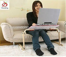 Compact Foldable Full Wooden Laptop Table