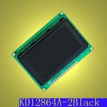 128x64 FFSTN Negative Transmissive Black LCD