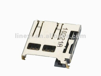 Push Push Type Micro SD Card Connector