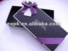 new style black dot,korean style lovely gift box,scarves boxes