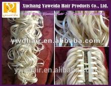 long human hair claw ponytail Fashion popular