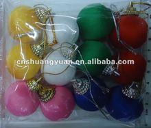 De seda del ornamento / bola de navidad
