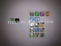Hot Selling Promotional Cheap Iphone Resin epoxy fridge magnet