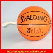 Customized soft toys/ Logo Printed Basketball Stress Ball