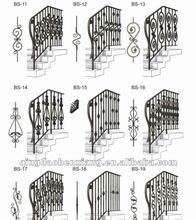 BX popular wrought iron railing ornament