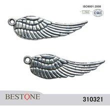 Wings Zinc Alloy Metal Beads
