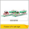 utv 2014 للجرارات الزراعية لعبة جديدة الاحتكاك مع الضوء 3 قطعة بما في ذلك البطارية ag13( صورتان شخصيتان بالألوان المختلط) oc0125705