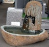 Natural Boulder Carved Outdoor Fountains