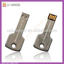 OEM usb key shape stick,custom logo and color usb flash drive 4gb u diak 2.0