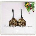 Sous-vêtements imprimés par léopard chaud de fille de sexe