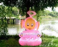advertising inflatable cartoon sofa chair