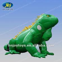 2012 Vivid green model inflatable iguana