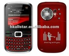 3 SIM TV big speaker qwerty mobile phone Q9