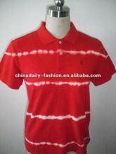 2015 Hot Selling OEM 100% Cotton Fashion Men Polo Shirt