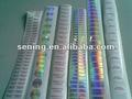 holográfica personalizada sellos de seguridad
