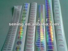 personalizzato olografico sigilli di sicurezza