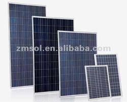cheap price per watt 135w poly solar panel price per watt/solar module