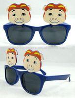 2013 new model sunglasses with pig carton good quality