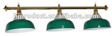 Green metal pool table lamp shade/ pool table light/ snooker table light