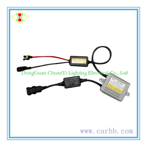 High quality hid can-bus ballast X3 model 12V 35W solving disturbed car com