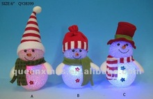 Light Up Led Christmas Snowman