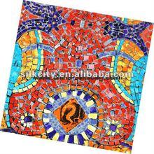 Lady's Fashion Square Print 2012 Silk Hijab
