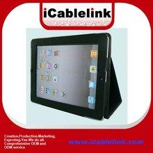 Hard cover for Ipad 3/ new ipad Gen Black Premium Leather Case