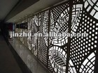 CNC aluminium hollowed and carved wall panel
