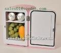 4l portátil pequeno mini geladeira hotel& freezer