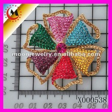 Rainbow Colored Crystal Brooch ,free sex picture