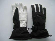 2012 hot sales leather winter sport warm ski gloves