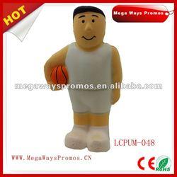 PU Stress Basketball Man