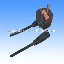 VDE approved pvc insulated and sheathed 220v power plug